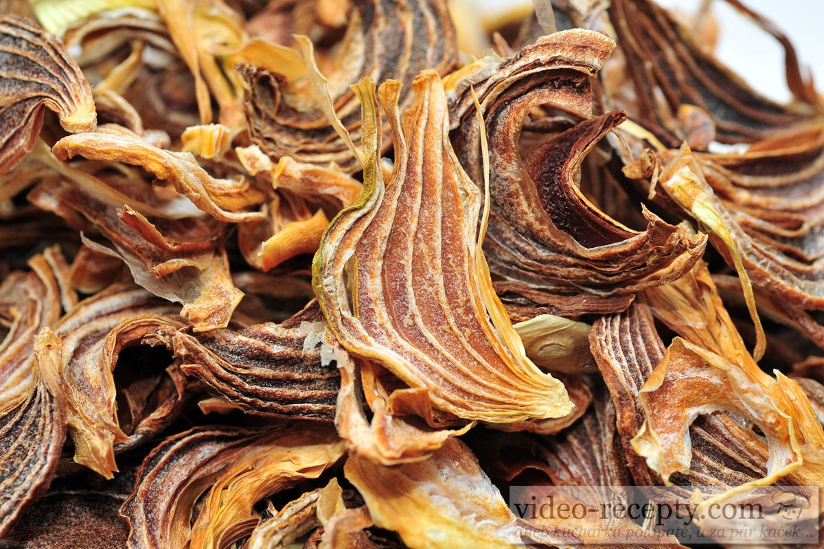 Recept Homemade Dried Vegetable Glutamate Free Dried Onion