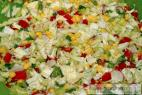 Recept Mixed vegetable salad - salad preparation