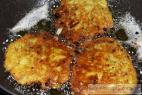 Recept Homemade potato fritters - potato fritters - preparation