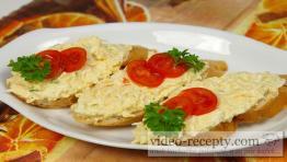 Creamy egg spread